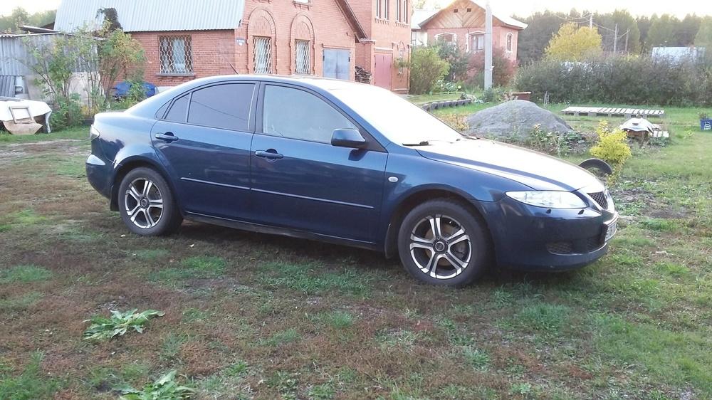 Подержанный Mazda 6, среднее состояние, зеленый металлик, 2007 года выпуска, цена 380 000 руб. в Челябинской области