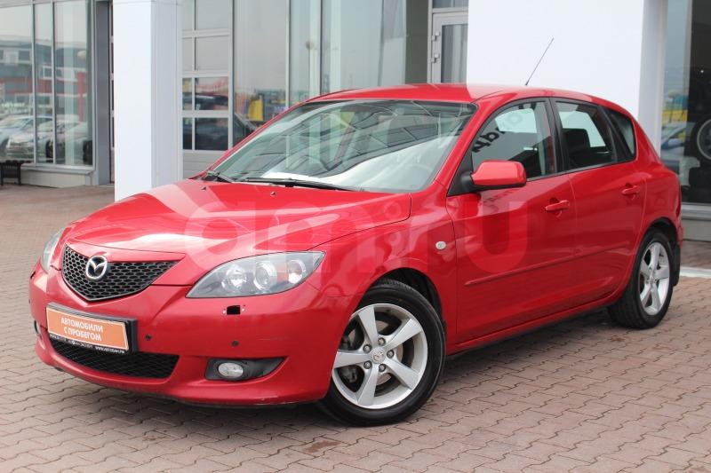Mazda 3 с пробегом, красный , отличное состояние, 2005 года выпуска, цена 329 000 руб. в автосалоне Автобан-Запад (Екатеринбург, ул. Металлургов, д. 67)