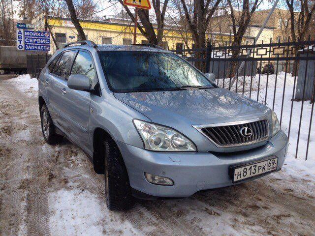 Подержанный Lexus RX, отличное состояние, голубой , 2007 года выпуска, цена 795 000 руб. в Твери