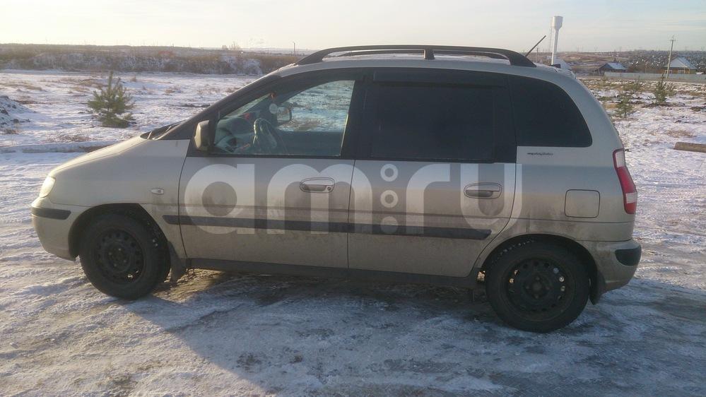 Подержанный Hyundai Matrix, хорошее состояние, золотой металлик, 2007 года выпуска, цена 375 000 руб. в республике Татарстане