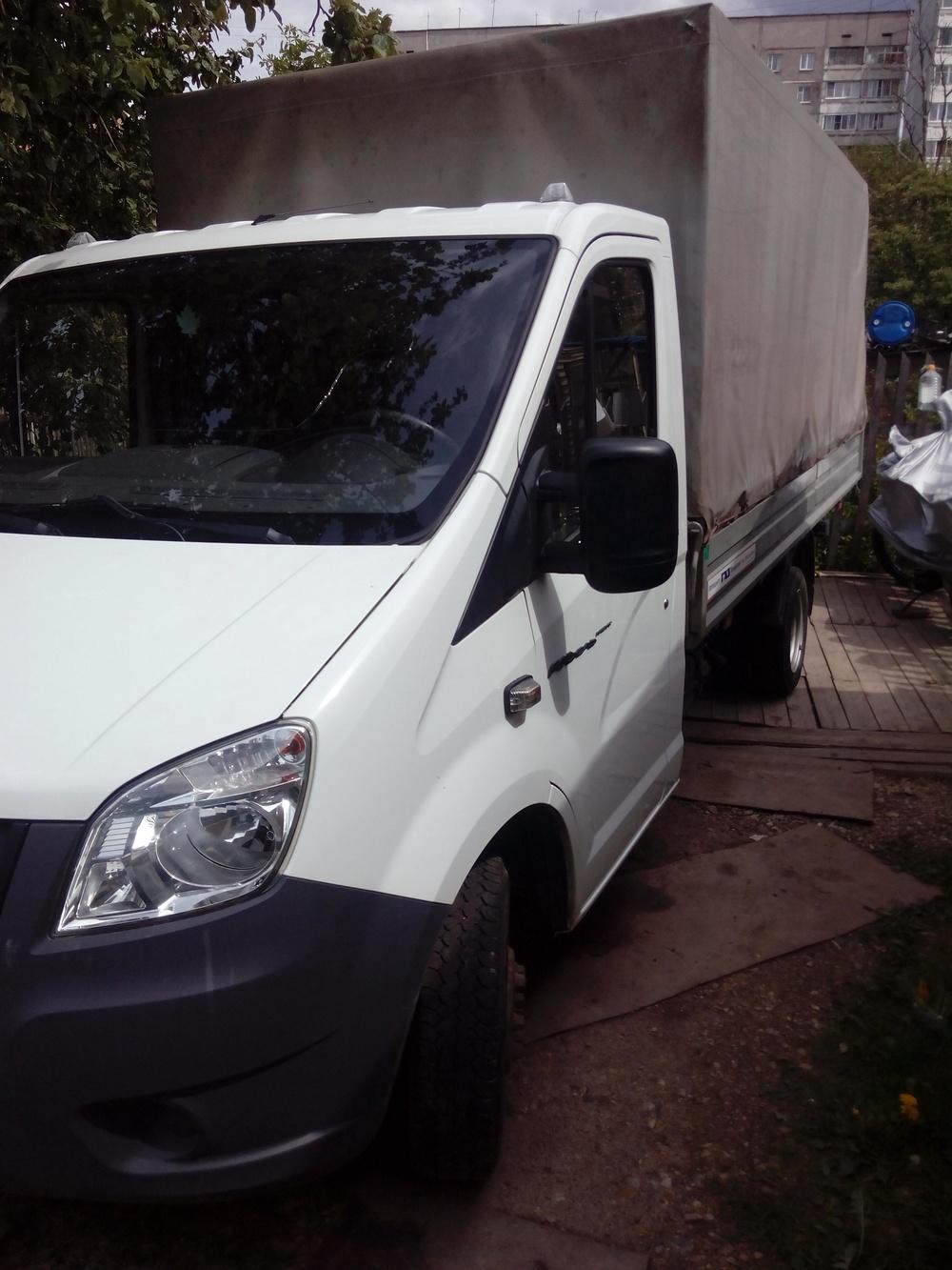 Подержанный ГАЗ Next, отличное состояние, белый , 2014 года выпуска, цена 680 000 руб. в Смоленской области