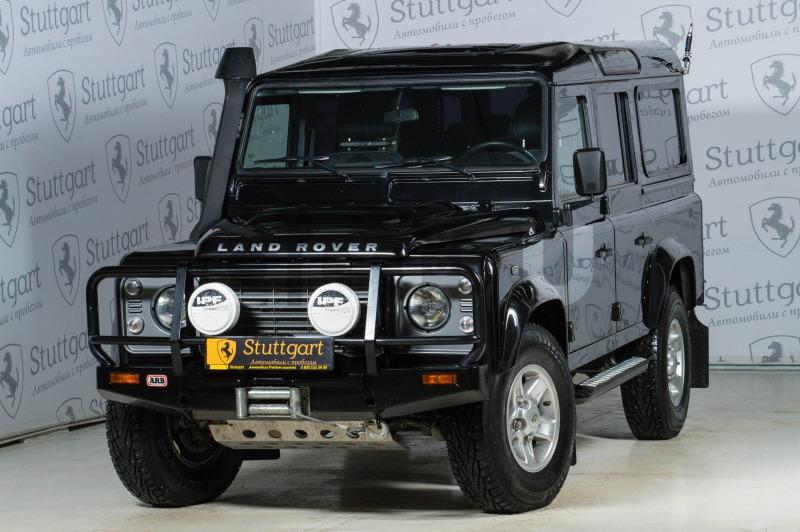 Land Rover Defender с пробегом, черный , отличное состояние, 2012 года выпуска, цена 1 500 000 руб. в автосалоне  ()