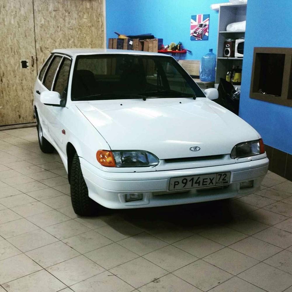 Подержанный ВАЗ (Lada) 2114, отличное состояние, белый , 2013 года выпуска, цена 210 000 руб. в Тюмени