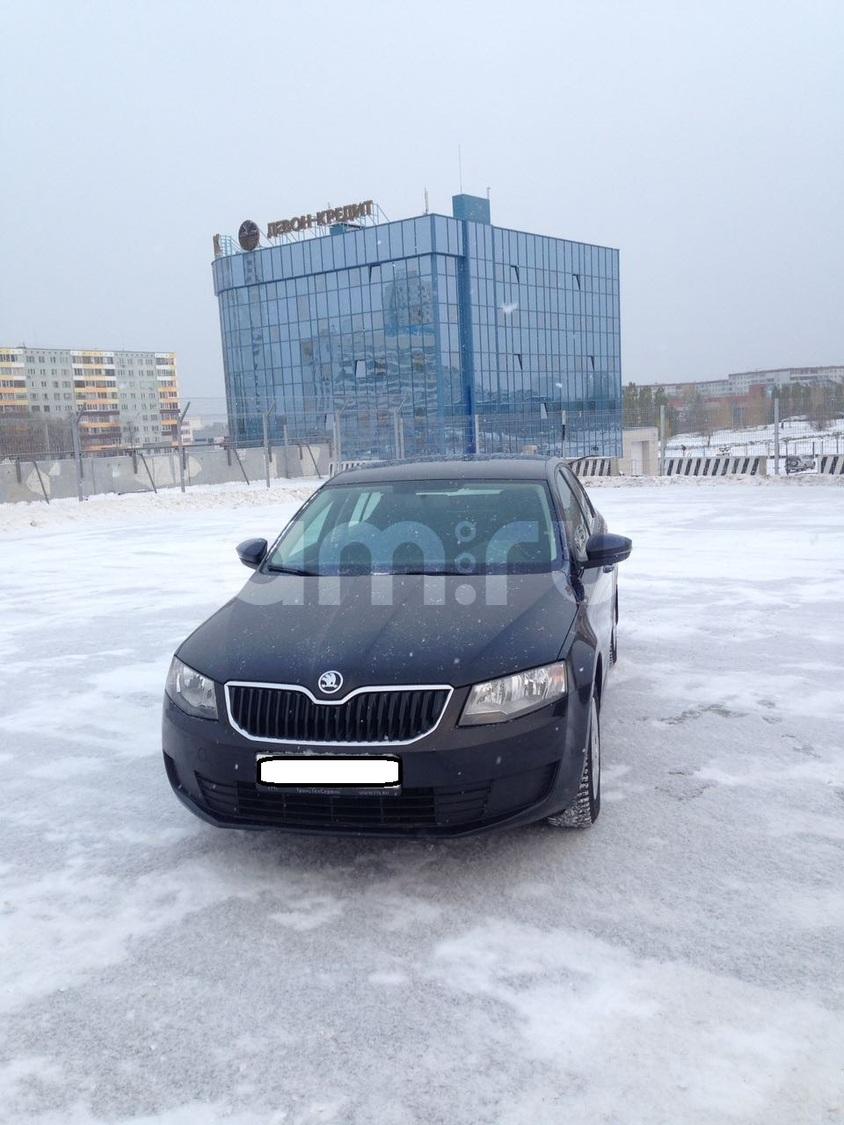 Подержанный Skoda Octavia, отличное состояние, черный перламутр, 2015 года выпуска, цена 920 000 руб. в республике Татарстане