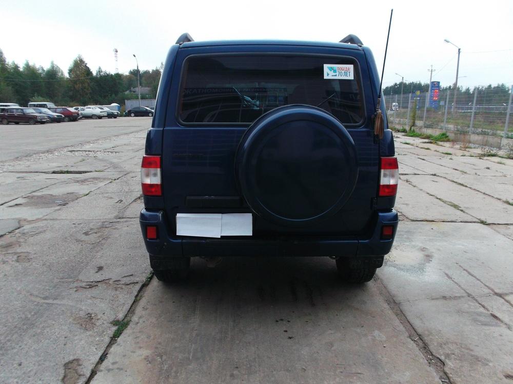 Подержанный УАЗ Patriot, хорошее состояние, синий , 2011 года выпуска, цена 350 000 руб. в Тверской области
