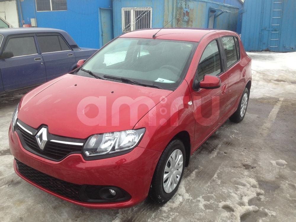Renault Sandero с пробегом, красный металлик, отличное состояние, 2016 года выпуска, цена 446 000 руб. в автосалоне  ()