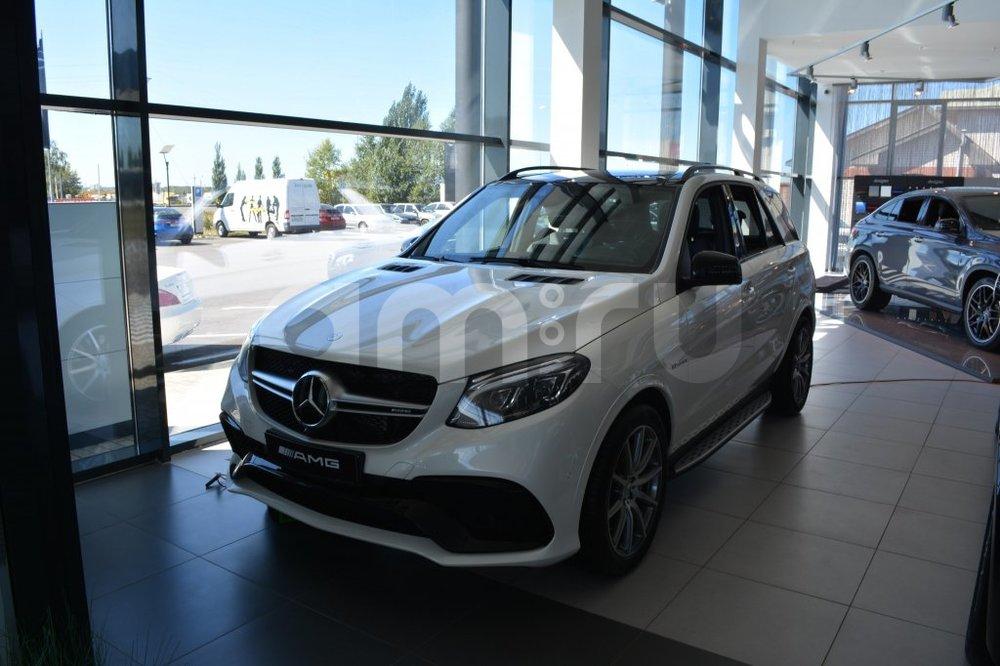 Новый авто Mercedes-Benz GLE-Класс, белый металлик, 2016 года выпуска, цена 7 350 000 руб. в автосалоне  ()