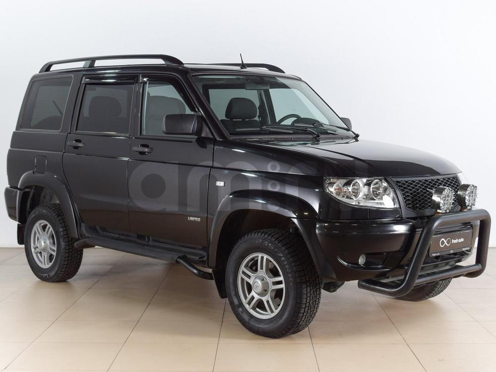 УАЗ Patriot с пробегом, черный , отличное состояние, 2013 года выпуска, цена 595 000 руб. в автосалоне  ()