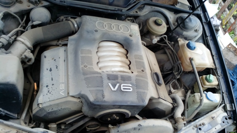 Подержанный Audi A6, среднее состояние, синий , 1997 года выпуска, цена 100 000 руб. в республике Татарстане