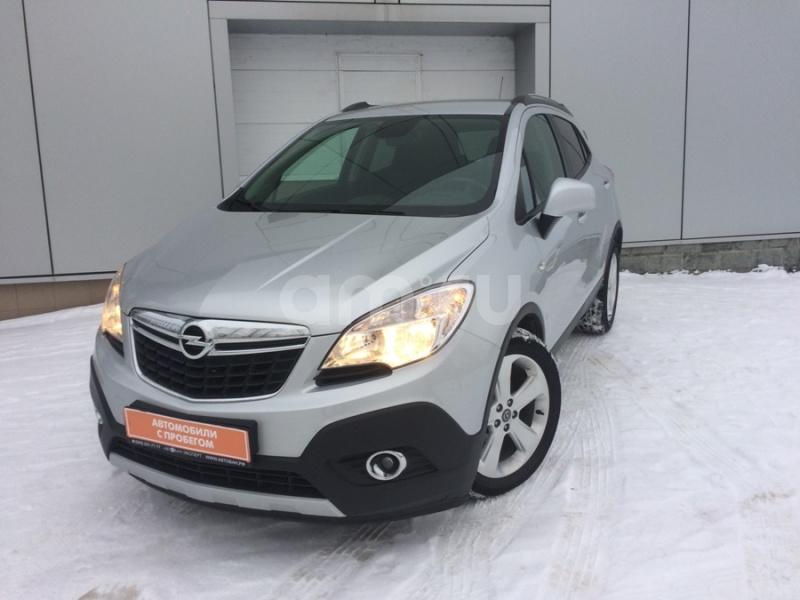 Opel Mokka с пробегом, серебряный , отличное состояние, 2012 года выпуска, цена 645 000 руб. в автосалоне Автобан-Запад (Екатеринбург, ул. Металлургов, д. 67)