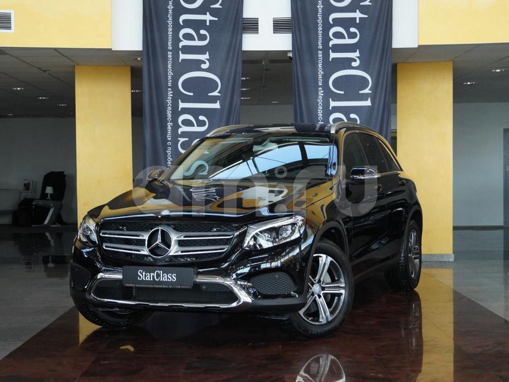 Mercedes-Benz GLC-Класс с пробегом, черный , отличное состояние, 2016 года выпуска, цена 2 730 000 руб. в автосалоне Ирбис Трейд на Ямашева (Казань, ул. Ямашева, д. 122)