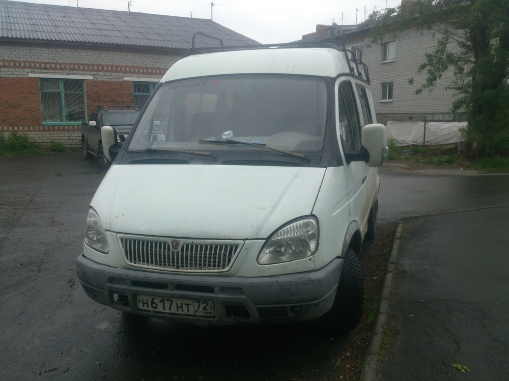 Подержанный ГАЗ Газель, среднее состояние, белый , 2007 года выпуска, цена 120 000 руб. в Тюмени