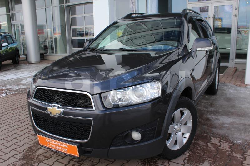 Chevrolet Captiva с пробегом, серый , отличное состояние, 2012 года выпуска, цена 939 000 руб. в автосалоне Автобан-Запад (Екатеринбург, ул. Металлургов, д. 67)