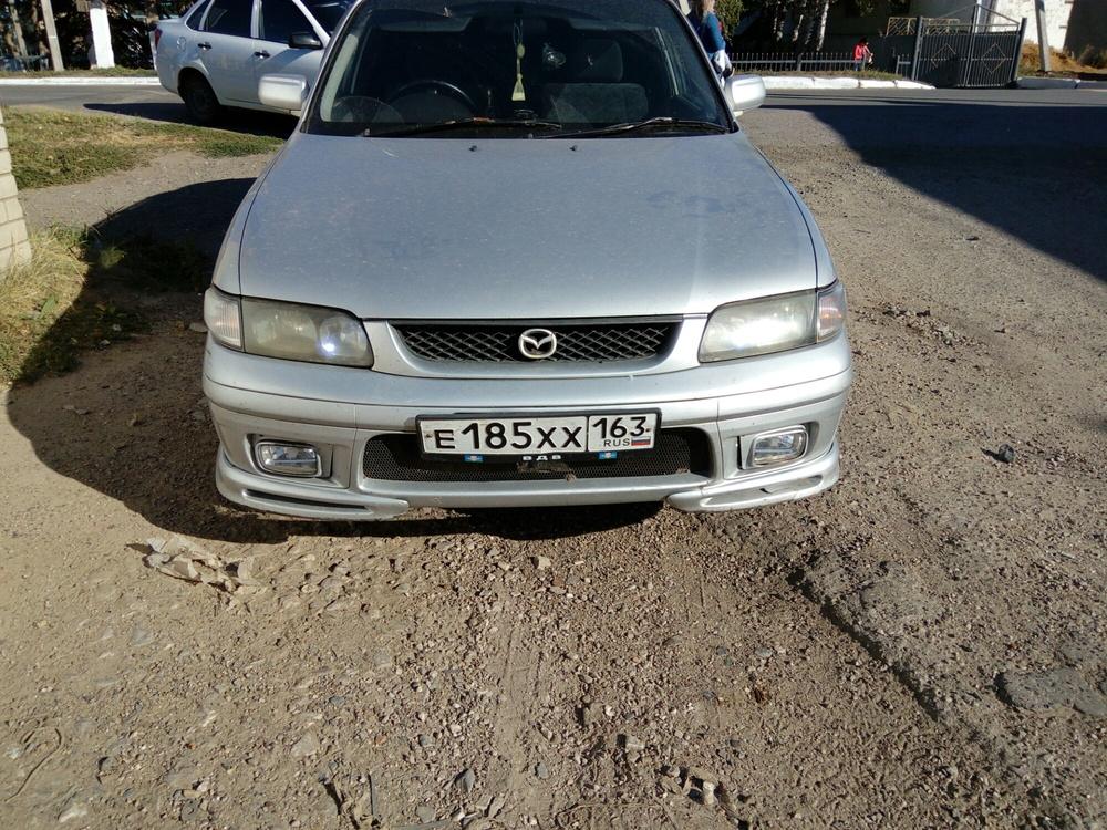 Подержанный Mazda Capella, хорошее состояние, серебряный , 1998 года выпуска, цена 110 000 руб. в республике Татарстане