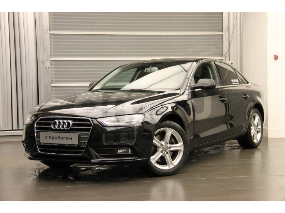 Audi A4 с пробегом, черный , отличное состояние, 2014 года выпуска, цена 1 220 000 руб. в автосалоне  ()