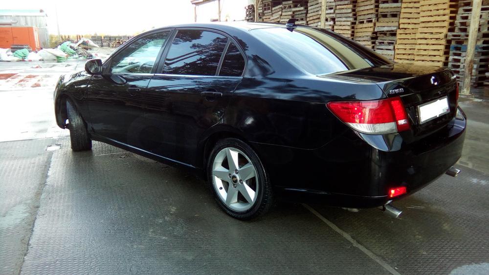 Подержанный Chevrolet Epica, хорошее состояние, черный , 2007 года выпуска, цена 380 000 руб. в ао. Ханты-Мансийском Автономном округе - Югре