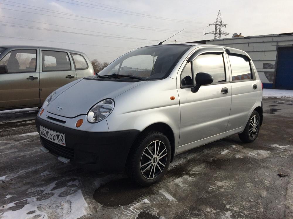 Подержанный Daewoo Matiz, отличное состояние, серебряный , 2012 года выпуска, цена 179 000 руб. в Челябинской области