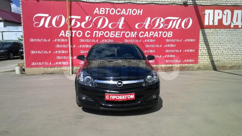 Opel Astra с пробегом, черный , отличное состояние, 2008 года выпуска, цена 395 000 руб. в автосалоне Победа-Авто (Саратов, ул. Чапаева, д. 173)
