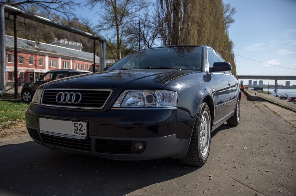 Подержанный Audi A6, отличное состояние, синий металлик, 2000 года выпуска, цена 350 000 руб. в Нижнем Новгороде