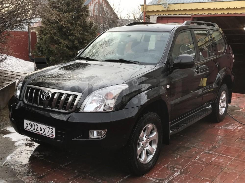 Подержанный Toyota Land Cruiser Prado, отличное состояние, черный , 2008 года выпуска, цена 1 770 000 руб. в Ульяновске