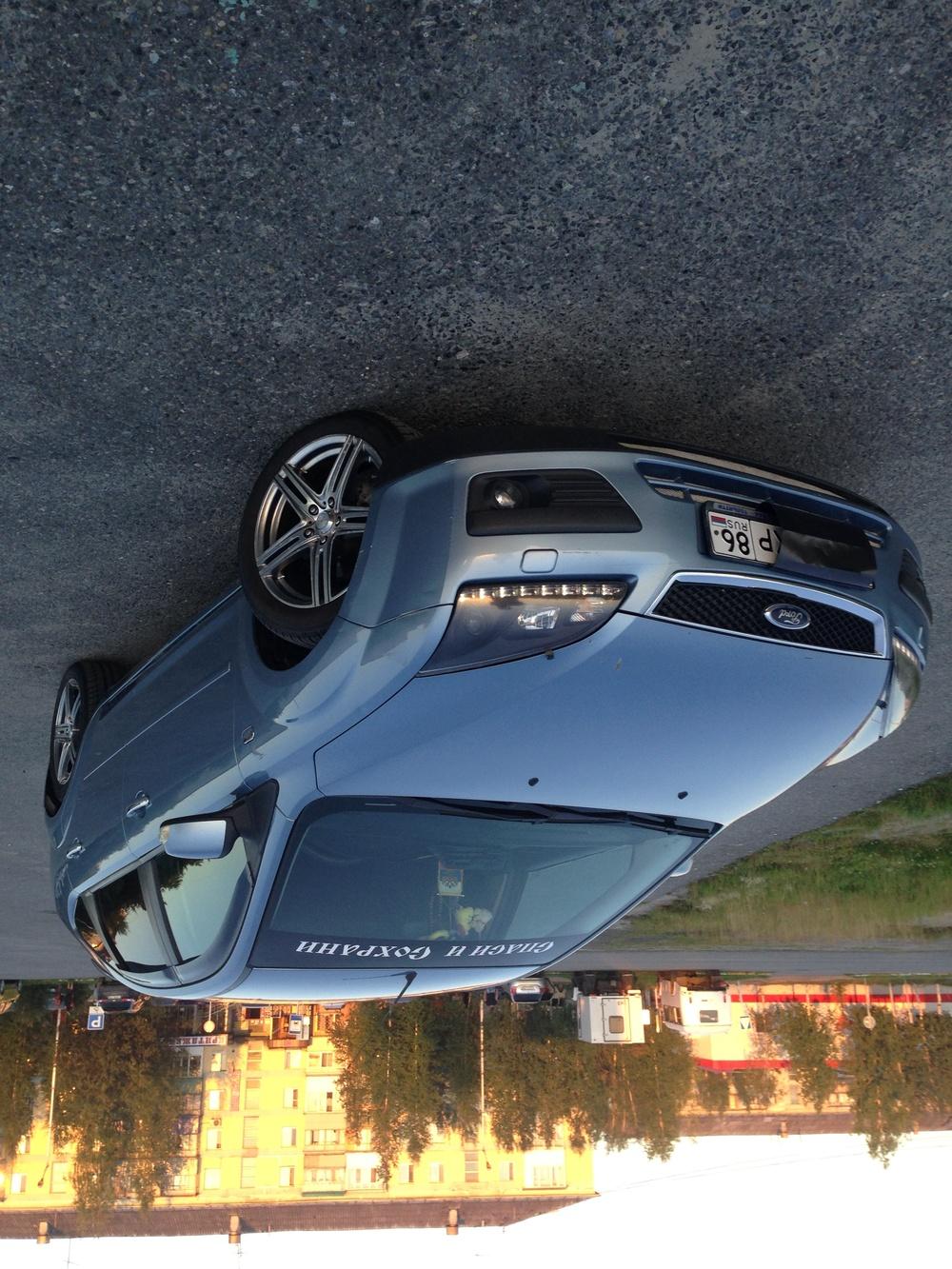 Подержанный Ford Focus, среднее состояние, голубой , 2007 года выпуска, цена 270 000 руб. в ао. Ханты-Мансийском Автономном округе - Югре