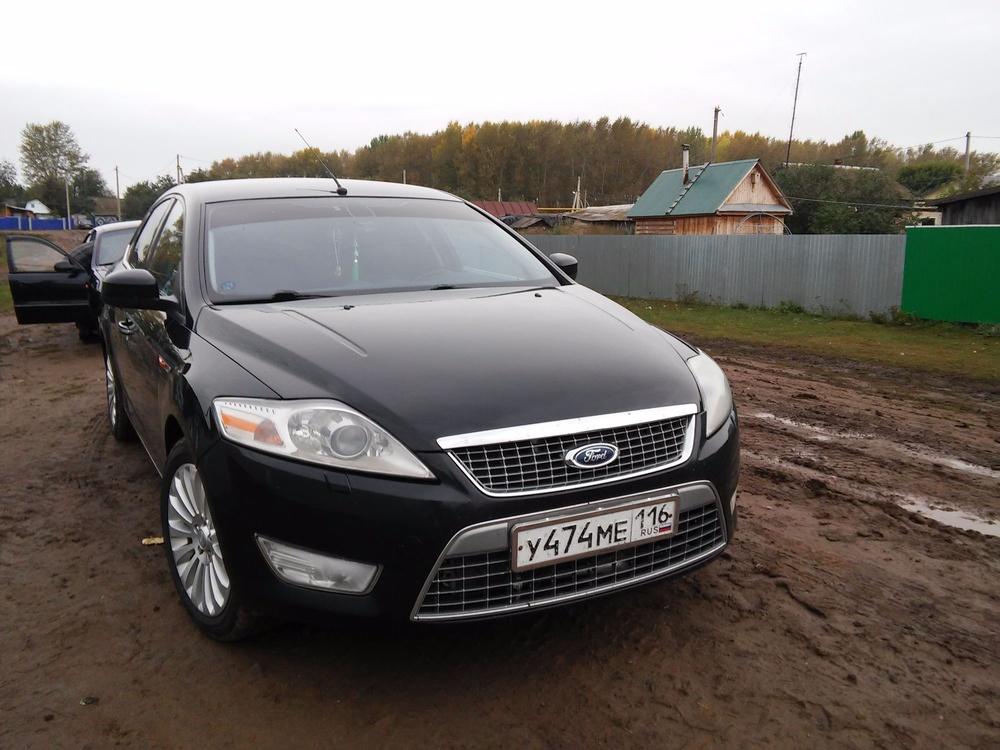 Подержанный Ford Mondeo, отличное состояние, черный , 2007 года выпуска, цена 410 000 руб. в республике Татарстане