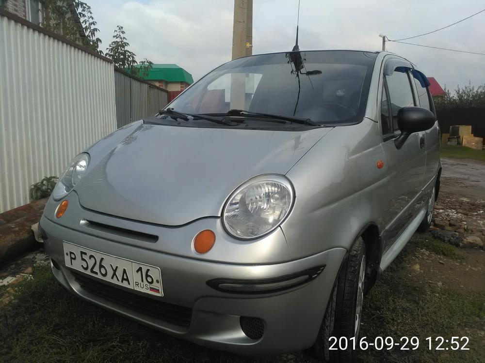 Подержанный Daewoo Matiz, хорошее состояние, серебряный , 2007 года выпуска, цена 90 000 руб. в республике Татарстане