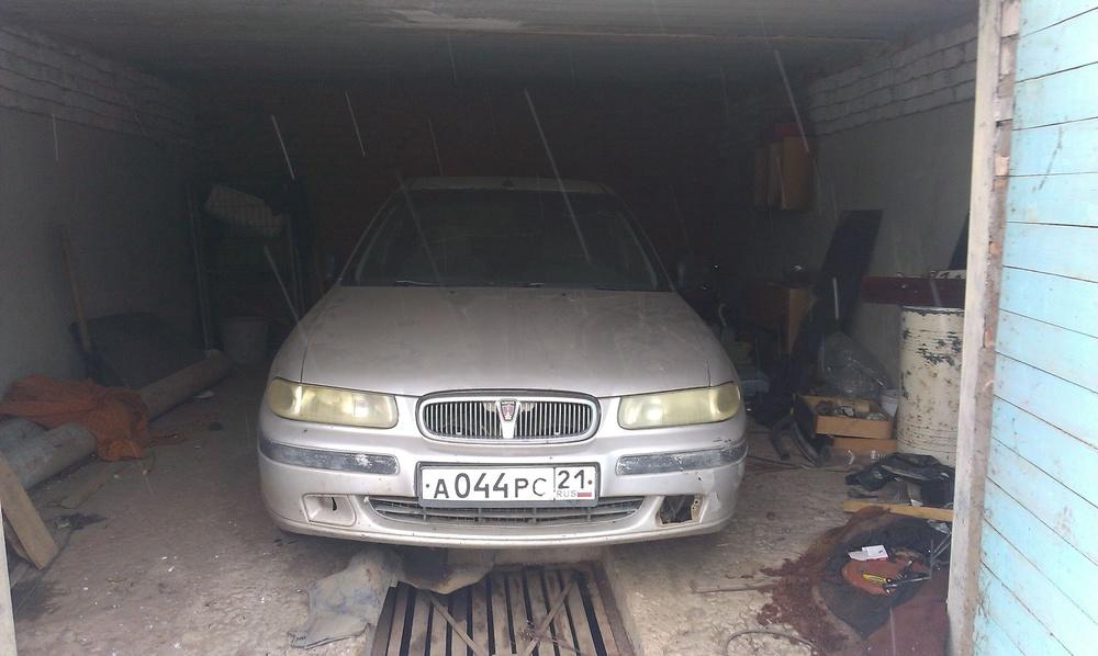 Подержанный Rover 400 Series, среднее состояние, серебряный металлик, 1998 года выпуска, цена 45 000 руб. в Смоленской области