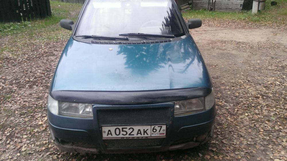 Подержанный ВАЗ (Lada) 2110, хорошее состояние, зеленый перламутр, 1999 года выпуска, цена 65 000 руб. в Смоленской области