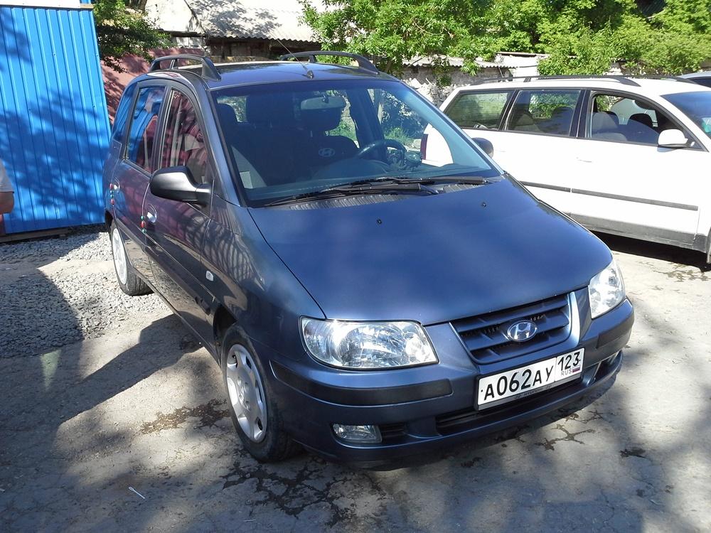 Подержанный Hyundai Matrix, хорошее состояние, серый металлик, 2002 года выпуска, цена 210 000 руб. в республике Татарстане