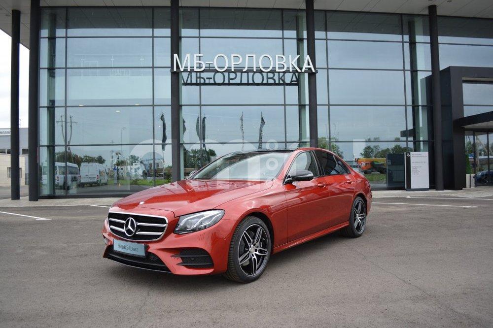 Новый авто Mercedes-Benz E-Класс, красный металлик, 2016 года выпуска, цена 3 645 000 руб. в автосалоне  ()