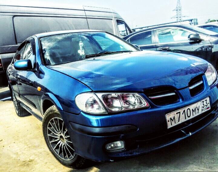 Подержанный Nissan Almera, хорошее состояние, синий , 2001 года выпуска, цена 185 000 руб. в республике Татарстане