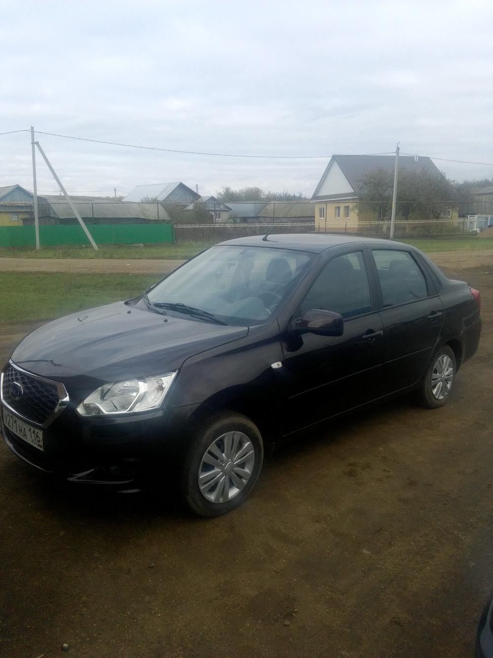 Подержанный Datsun on-DO, отличное состояние, коричневый , 2014 года выпуска, цена 385 000 руб. в республике Татарстане