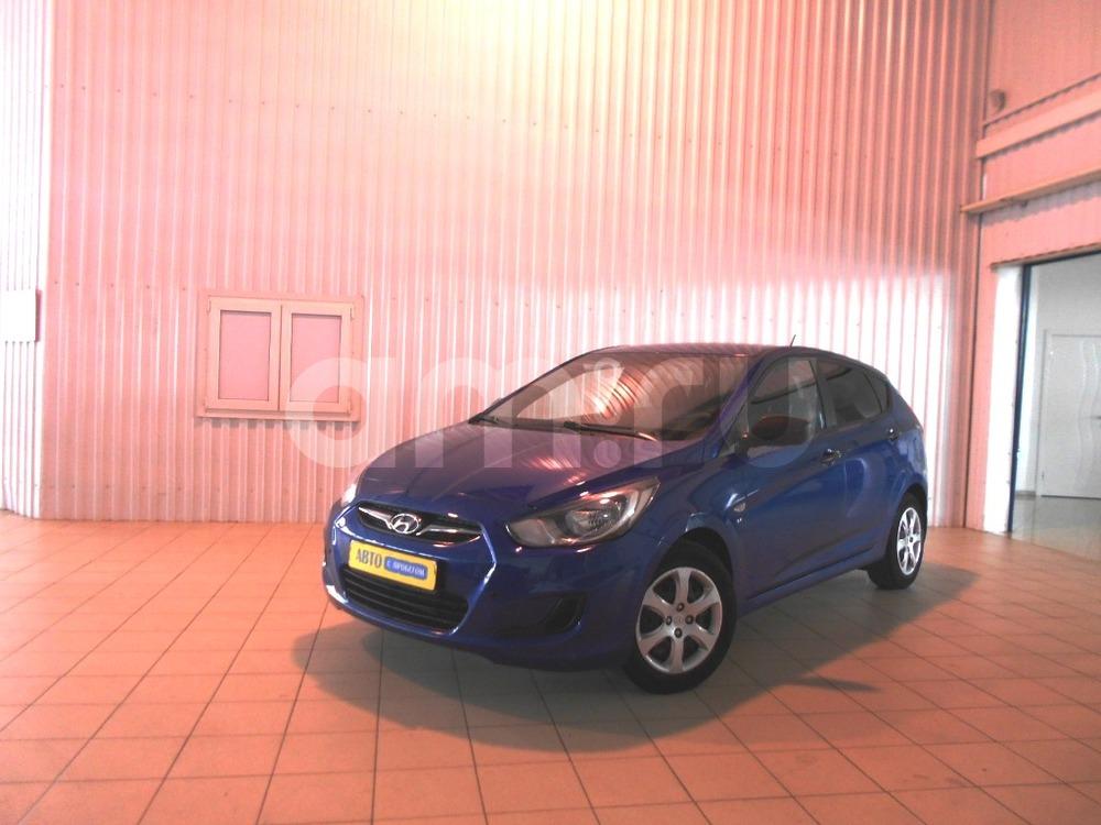 Hyundai Solaris с пробегом, синий перламутр, отличное состояние, 2012 года выпуска, цена 480 000 руб. в автосалоне  ()