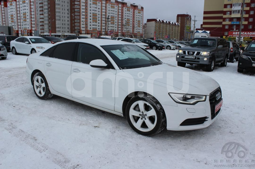 Audi A6 с пробегом, белый , отличное состояние, 2011 года выпуска, цена 1 700 000 руб. в автосалоне  ()