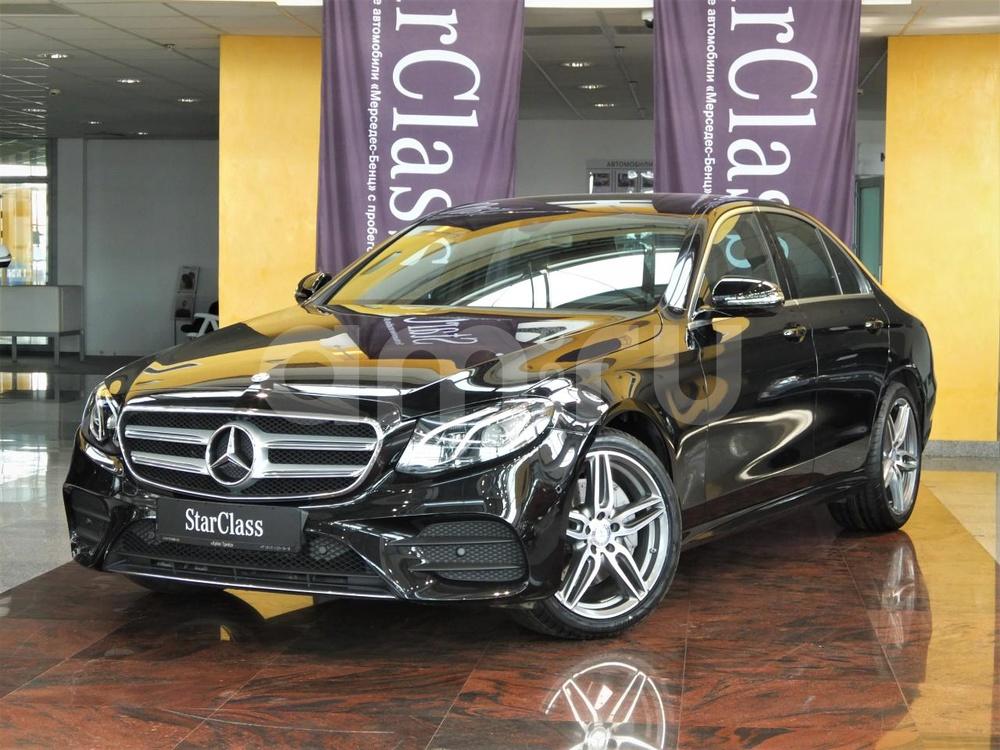 Mercedes-Benz E-Класс с пробегом, черный , отличное состояние, 2016 года выпуска, цена 2 720 000 руб. в автосалоне  ()