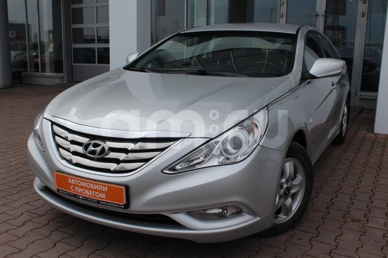 Hyundai Sonata с пробегом, серебряный , отличное состояние, 2011 года выпуска, цена 639 000 руб. в автосалоне Автобан-Запад (Екатеринбург, ул. Металлургов, д. 67)