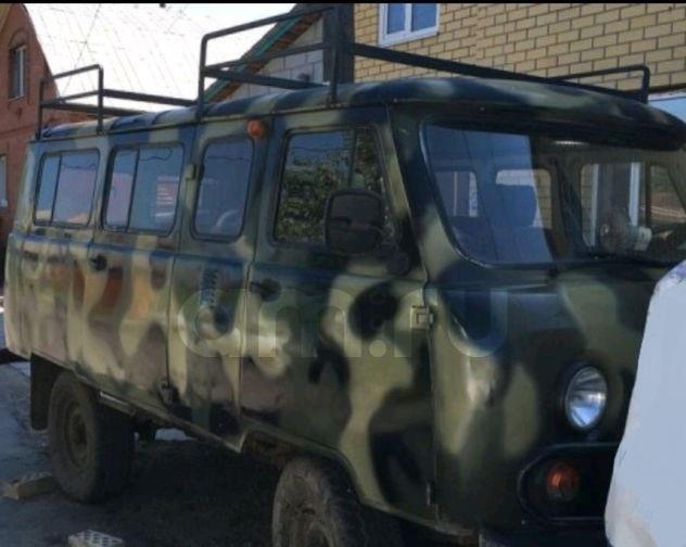 Подержанный УАЗ 2206, хорошее состояние, зеленый акрил, 1997 года выпуска, цена 220 000 руб. в ао. Ханты-Мансийском Автономном округе - Югре