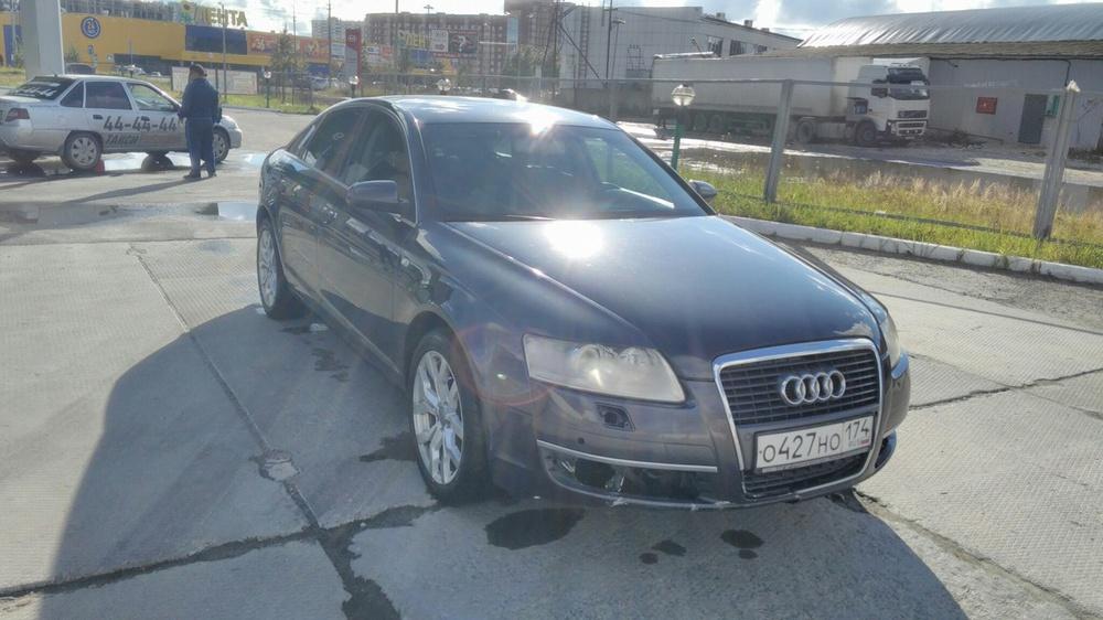 Подержанный Audi A6, хорошее состояние, синий , 2007 года выпуска, цена 520 000 руб. в ао. Ханты-Мансийском Автономном округе - Югре