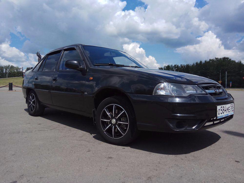 Подержанный Daewoo Nexia, отличное состояние, черный , 2012 года выпуска, цена 186 000 руб. в Пензе