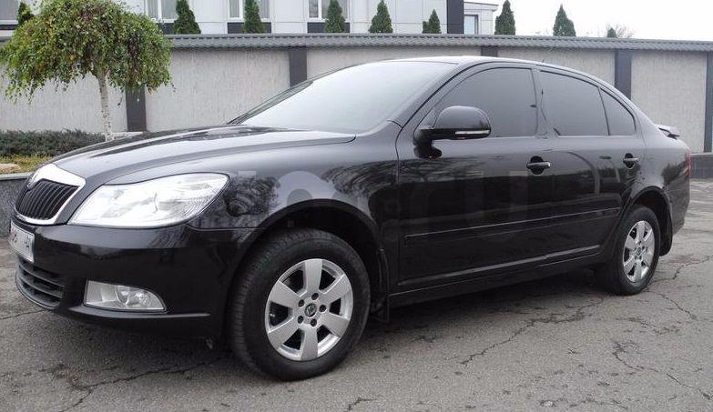 Подержанный Skoda Octavia, отличное состояние, черный , 2011 года выпуска, цена 460 000 руб. в Нижнем Новгороде