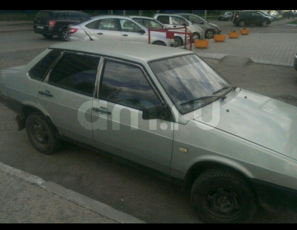 Подержанный ВАЗ (Lada) 2109, среднее состояние, серебряный , 2002 года выпуска, цена 50 000 руб. в республике Татарстане
