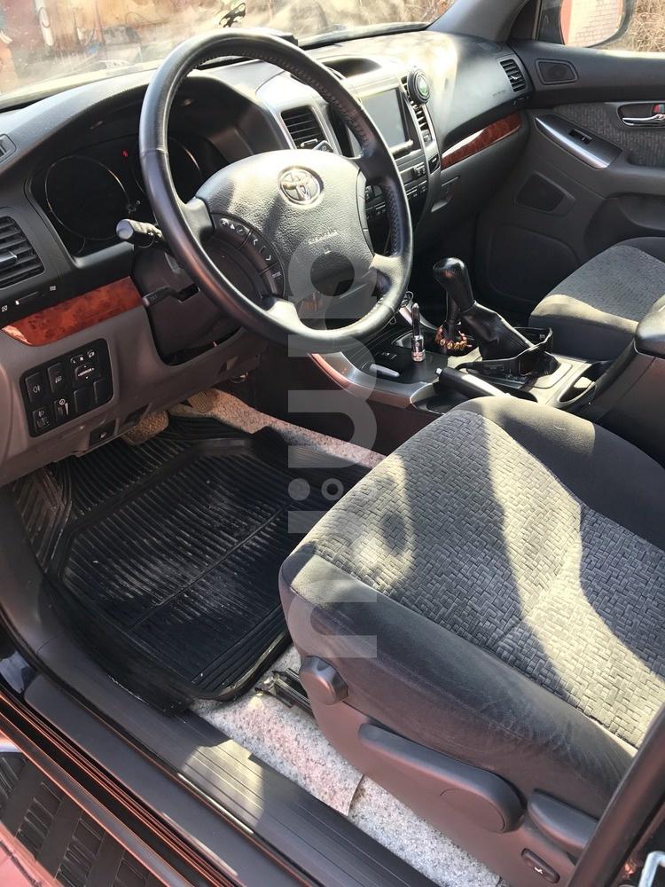 Подержанный Toyota Land Cruiser Prado, отличное состояние, черный , 2008 года выпуска, цена 1 680 000 руб. в Ульяновске