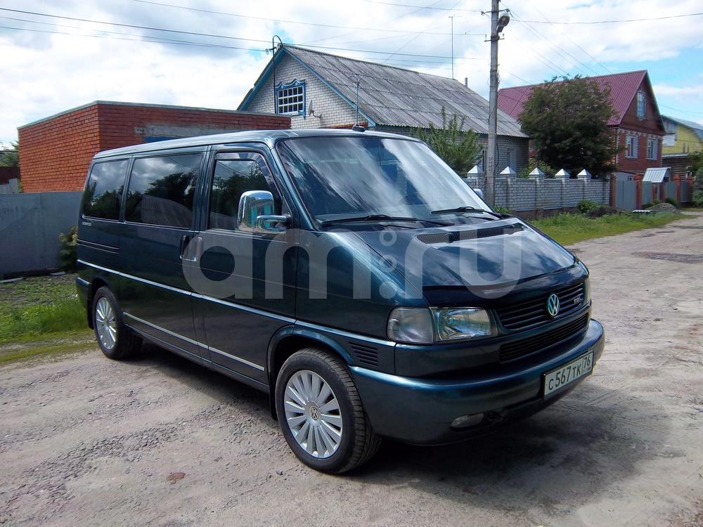 Подержанный Volkswagen Multivan, отличное состояние, зеленый металлик, 2002 года выпуска, цена 899 000 руб. в Пензенской области