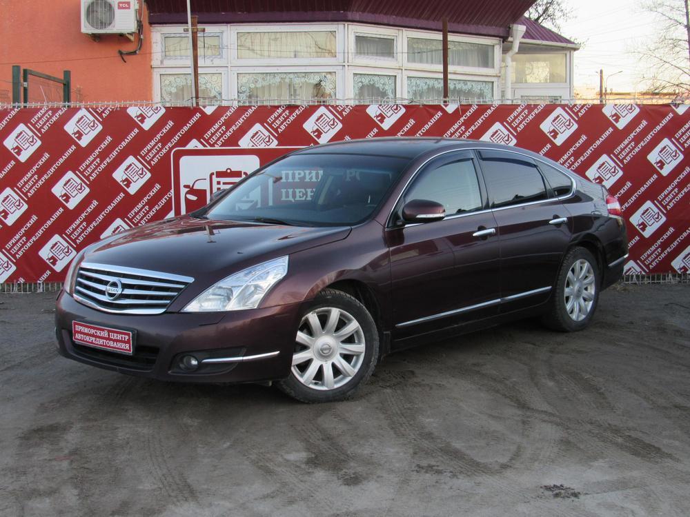 Nissan Teana с пробегом, фиолетовый , отличное состояние, 2009 года выпуска, цена 579 000 руб. в автосалоне  ()