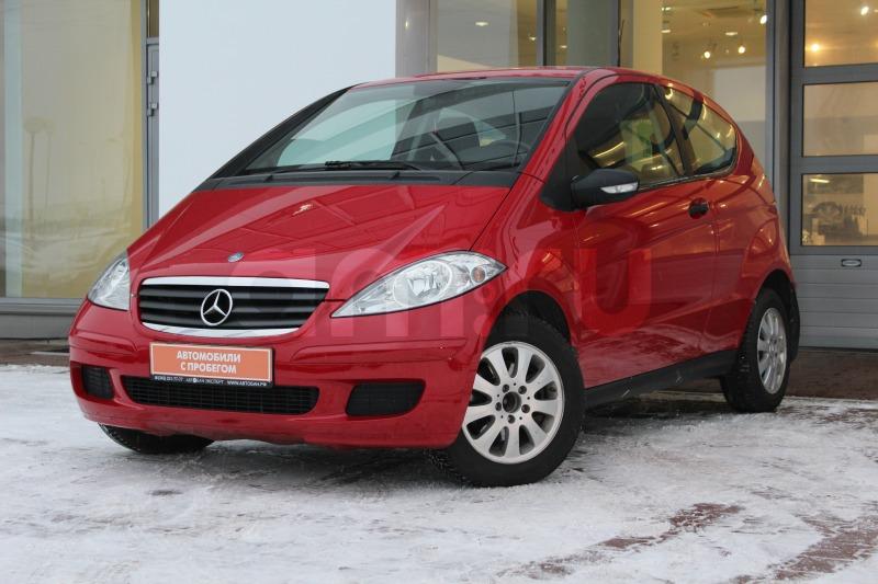 Mercedes-Benz A-Класс с пробегом, красный , отличное состояние, 2005 года выпуска, цена 359 000 руб. в автосалоне  ()