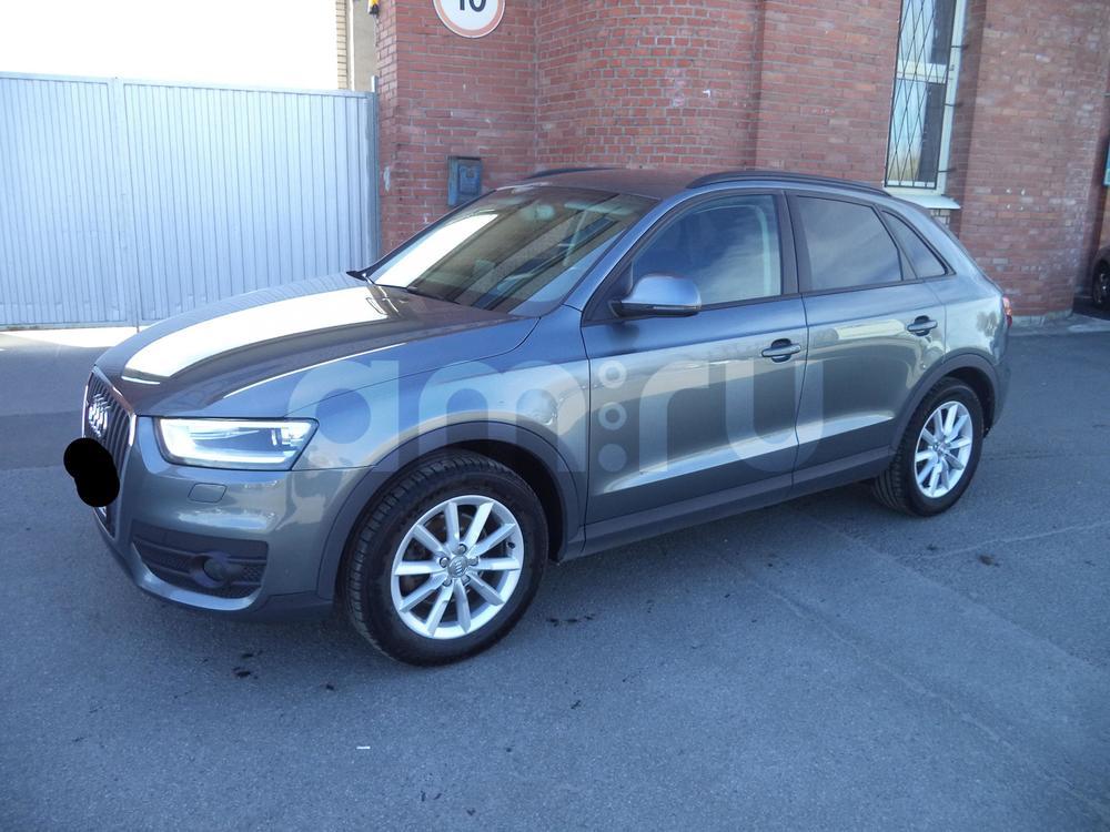 Audi Q3 с пробегом, серый металлик, отличное состояние, 2012 года выпуска, цена 999 999 руб. в автосалоне Инфо Кар Плюс (Санкт-Петербург, дорога на Турухтанные острова, д. 10)