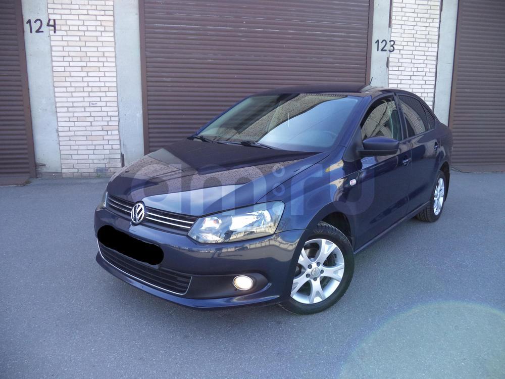 Volkswagen Polo с пробегом, синий , отличное состояние, 2012 года выпуска, цена 467 000 руб. в автосалоне  ()