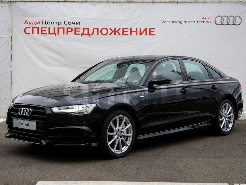 Новый авто Audi A6, черный , 2016 года выпуска, цена 3 750 000 руб. в автосалоне Ауди Центр Сочи (Сочи, ул. Кипарисовая, д. 16/1)