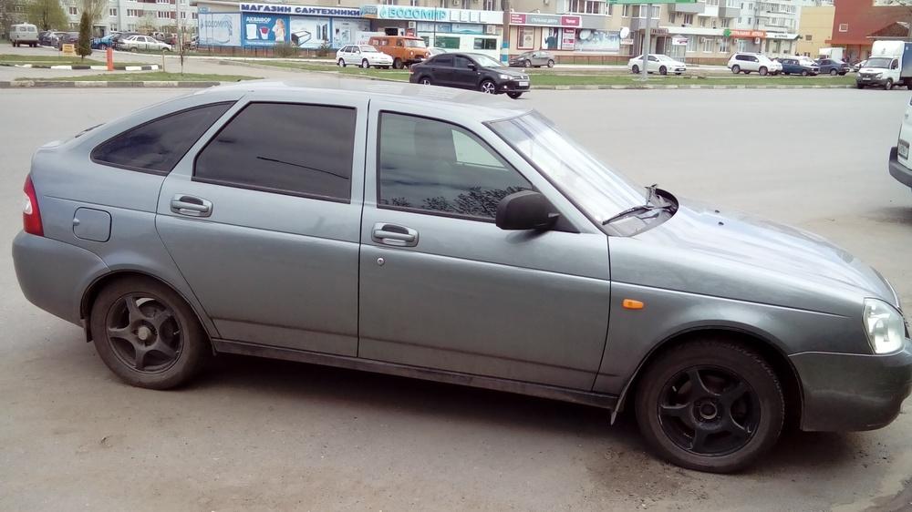 Подержанный ВАЗ (Lada) Priora, хорошее состояние, серый , 2010 года выпуска, цена 230 000 руб. в Ульяновске